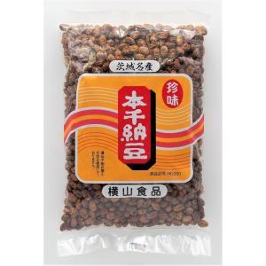 茨城名産 珍味 本干納豆(黒)200g入|87da