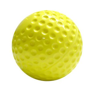 ソフトボール用品 ウレタンソフトボール12インチ イエロー12球 ナイガイ