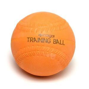 ソフトボール用品 ナイガイトレーニングソフトボール 1球 オレンジ 300g
