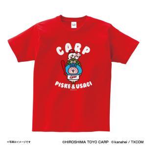 広島カープグッズ カナヘイの小動物コラボ Tシャツ