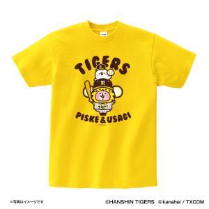 阪神タイガースグッズ カナヘイの小動物コラボ Tシャツ