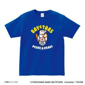 横浜DeNAベイスターズグッズ カナヘイの小動物コラボ Tシャツ