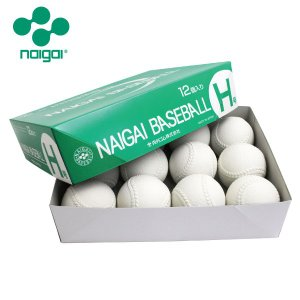 準硬式ボール ナイガイベースボールH号 12球
