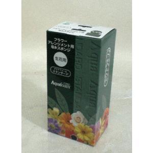 フラワーアレンジメント用 給水スポンジ アクアフォーム スタンダート 20個(化粧箱)入り1箱|8hana-gift