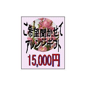 ご希望聞かせてアレンジ15000 (受注作成)|8hana-gift