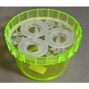 クロッカス 水栽培用ポット プラスチック 球根対応数3球 |8hana-gift