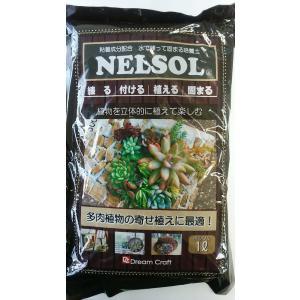 ネルソル 1L 粘着成分配合 水で練って固まる土|8hana-gift