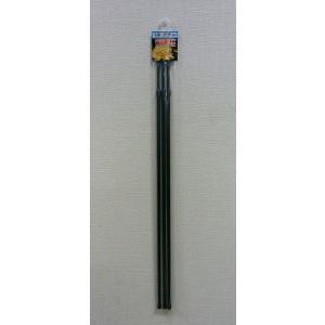 スチール製 菊支柱 伸縮タイプ 3本入り S型 60から100cm|8hana-gift