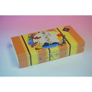 黄八丈サブレ キョン箱 カラー 10枚入り 8jomingei