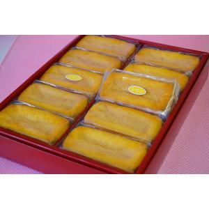八丈フルーツレモンケーキ 10個入り 8jomingei