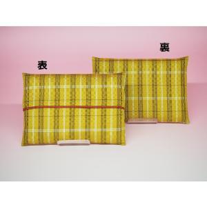 黄八丈 ティッシュケース(赤)|8jomingei