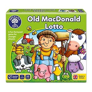 Orchard Toys Old MacDonald Lotto並行輸入品
