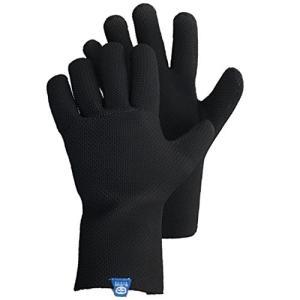氷河手袋ICE BAYフィッシンググローブ、ブラック、ミディアム並行輸入品
