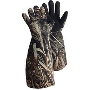 氷河手袋 - 肘長迷彩おとり手袋(最大4、X-ラージ)並行輸入品