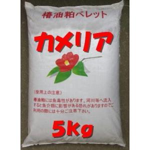 椿油かす椿キングを5kgに小分け 病害虫の駆除や忌避をカメリアで土壌改良|9-9store