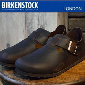 ビルケンシュトックの定番シューズ LONDON/ロンドン。 男女問わず高い人気があり、無駄を省いたシ...