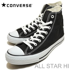 コンバース CONVERSE オールスターHI ALL STAR HI BLACK ブラック ハイカット 靴 スニーカー シューズ|928wing