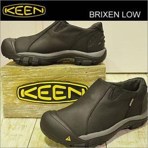 KEEN キーン Brixen Low ブリクセン ロー Black/Gargoyle ブラック/ガーゴイル 靴 シューズ|928wing