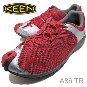 KEEN キーン A86 TR Chili Pepper/Gargoyle チリペッパー/ガーゴイル 靴 シューズ|928wing