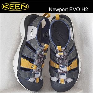 KEEN キーン Newport EVO H2 ニューポート イーヴイオー エイチツー GARGOYLE/CROWN BLUE ガーゴイル/クラウンブルー|928wing