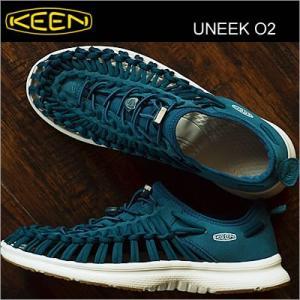 KEEN キーン Uneek 02 ユニーク オーツー SEAPORT/WHITE シーポート/ホワイト|928wing