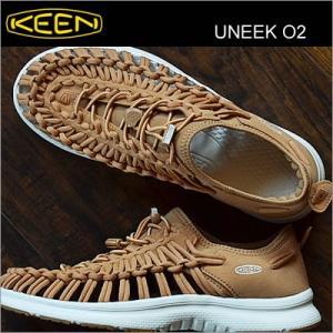 KEEN キーン Uneek 02 ユニーク オーツー TAN/WHITE タン/ホワイト|928wing