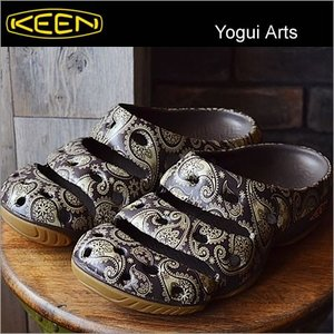 KEEN キーン Yogui Arts ヨギ アーツ Brown Paisley ブラウン ペイズリー|928wing