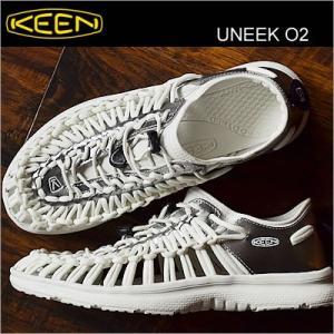 KEEN キーン Uneek O2 ユニーク オーツー WHITE/BEAR シホワイト/ベアー 靴 シューズ|928wing