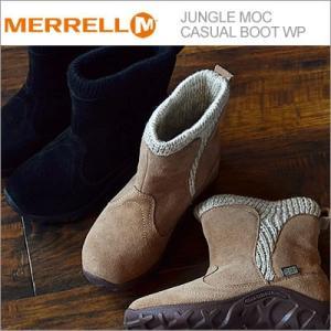 メレル MERRELL ジャングル モック カジュアル ブーツ ウォータープルーフ キッズ 【2色】|928wing
