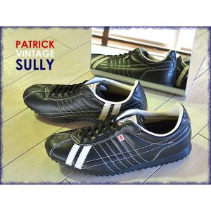 パトリック PATRICK スニーカー シュリー SULLY ブラック 26751 レディース メンズ