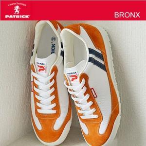 PATRICK パトリック BRONX ブロンクス ホワイト/オレンジ 靴 シューズ