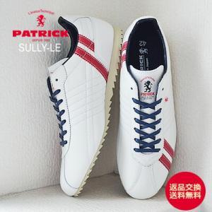 PATRICK パトリック スニーカー SULLY-LE シュリー レザー ホワイト レディース メンズ 靴 シューズ