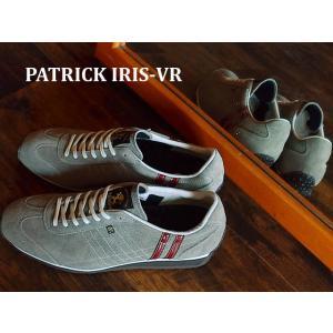 パトリック スニーカー PATRICK IRIS-VR アイリス ベロア MOCA モカ|928wing