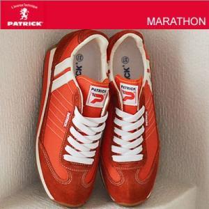 パトリック マラソン PATRICK MARATHON スニーカー ORNGE オレンジ メンズ レディース