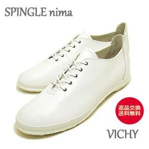スピングルムーブ SPINGLE MOVE レディース SPINGLE nima スピングルニーマ VICHY NIMA-123 WHITE ホワイト|928wing