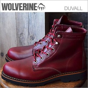 WOLVERINE ウルヴァリン 1000MILE DUVALL 1000マイル デュバル DARK RED LEATHER ダーク レッド|928wing