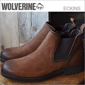 WOLVERINE ウルヴァリン ECKINS エキンズ BROWN LEATHER ブラウンレザー|928wing
