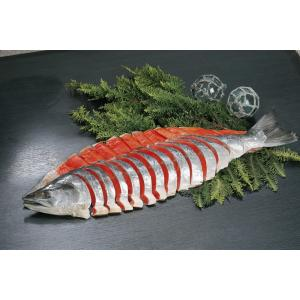 塩紅鮭【姿切】(ロシア産)1本約2.5kg 8分割|946gyokyou