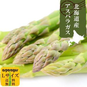 北海道 アスパラガス 送料無料 1kg Lサイズ 冷蔵発送...