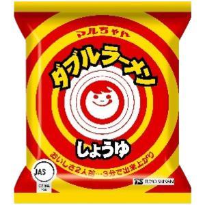 マルちゃん ダブルラーメン しょうゆ味 15袋セット 北海道...