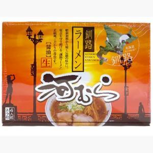 釧路 河むら 醤油味生ラーメン