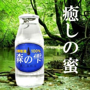 送料込 白樺樹液 森の雫 10本セット 北海道 ご当地 ドリンク 水|946kitchen