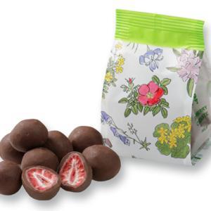 六花亭 ストロベリーチョコミルク 袋タイプ(80g) 北海道お土産 お返し 友人 お取り寄せ 贈り物...