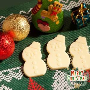 【期間・数量限定商品】雪だるまくんチョコレート ホワイト【石屋製菓】