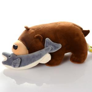 北海道名物 鮭喰熊 ぬいぐるみ|946kitchenwasho|02