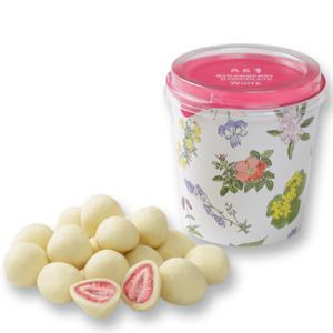 六花亭 ストロベリーチョコ ホワイト ギフト プレゼント 北海道 お土産 母の日 バレンタイン