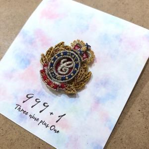 1416C ラカムワッペン 刺繍 エンブレムC|999a