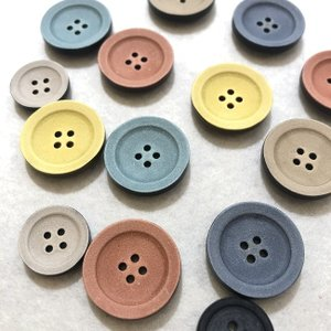 POP7 15mm〜23mm POPカラーユリアボタン|999b