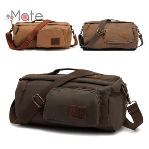 バッグ メンズ ボストンバッグ 2way ショルダーバッグ 手提げバッグ レディース 旅行 帆布バッグ カバン 斜めがけ 大容量 出張|99mate
