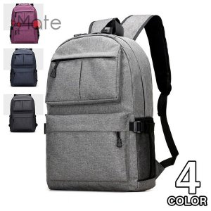 ビジネスリュック デイパック メンズ バッグ レディース リュックサック 大容量 USB充電ポート カバン 通勤 通学 バックパック|99mate